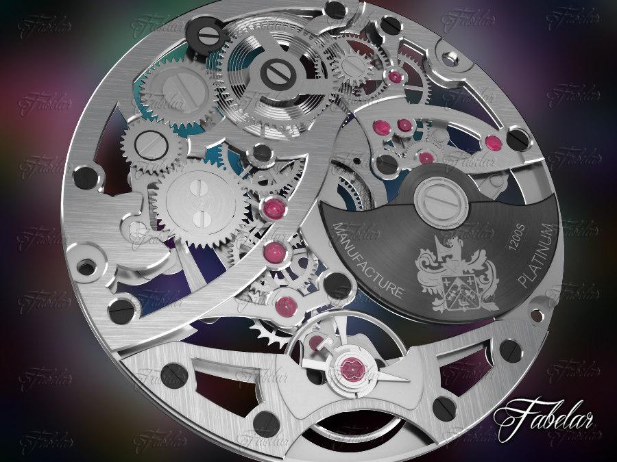 watch mechanism 3d max