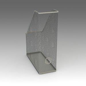 documents box ikea 3d model