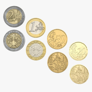 c4d french euro coins 2