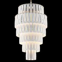 3d meissen couture chandelier cascade