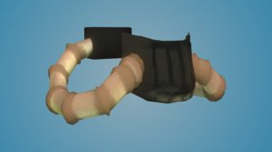 3ds max breathing mask mad-max