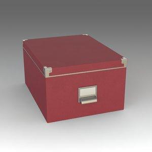 3d fbx box ikea