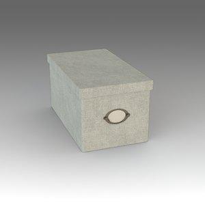free box ikea 3d model