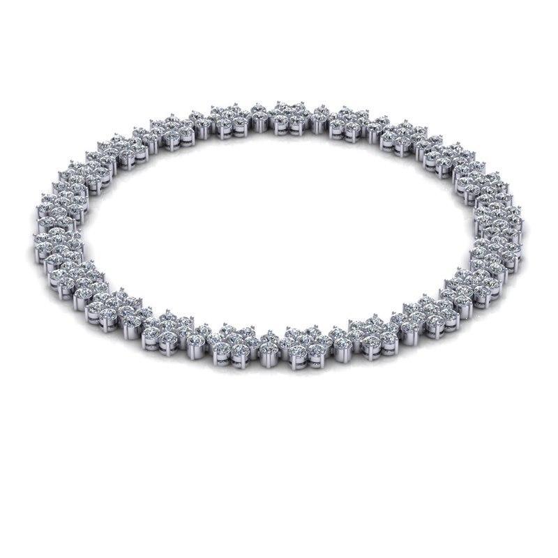 3d 3ds diamond necklace