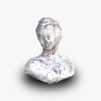 sculpture 3d obj