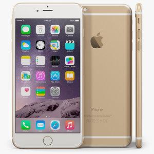 apple iphone 6 phone obj