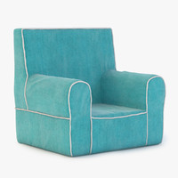 3d model chair baby
