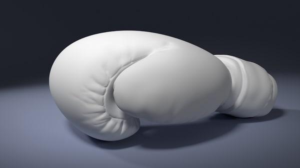 3d model boxing glove printing