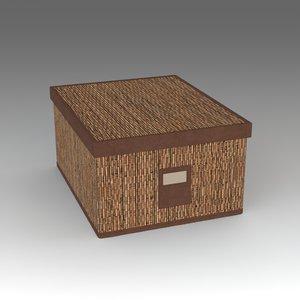 box ikea 3d model