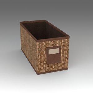 box ikea 3d fbx