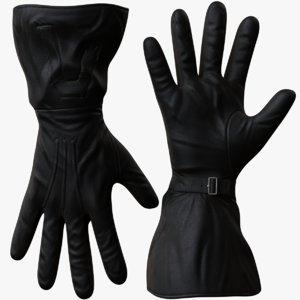 men gloves 3d model