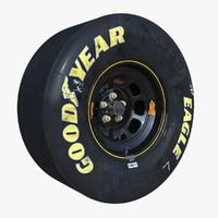 Nascar Wheel and Brakes
