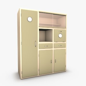 kitchen dresser 3d model