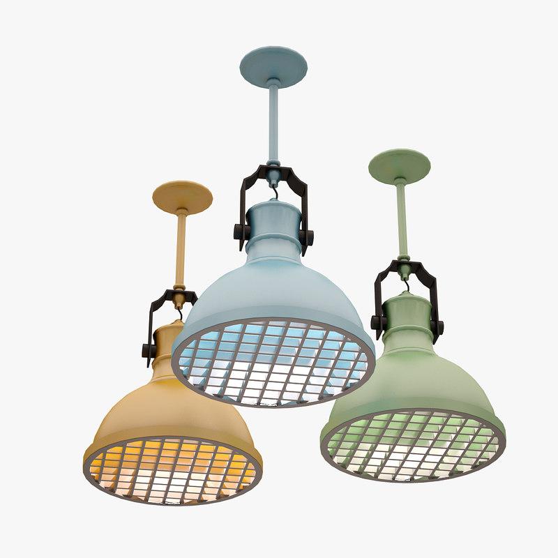 max colorful lamp set