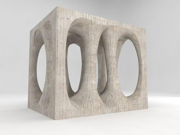 3d model socialist monument ilirska bistrica