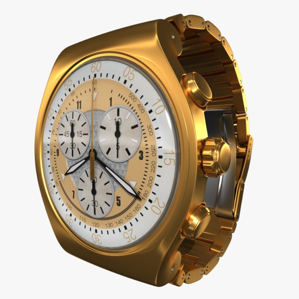 3d swatch irony gold