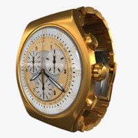 3d swatch irony gold