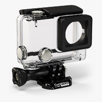 3d gopro hero4 waterproof housing