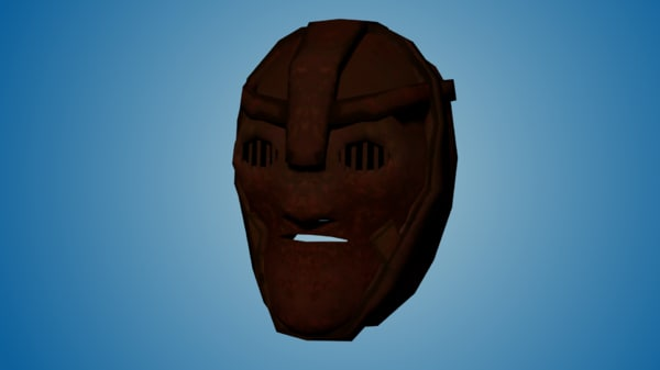 3ds max metal mask iron