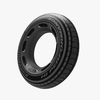3d model children buoy tire