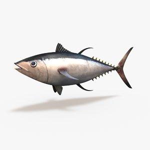 c4d tuna bluefin