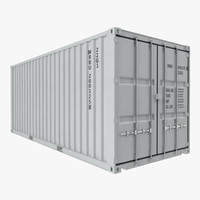 20 ft ISO Container White