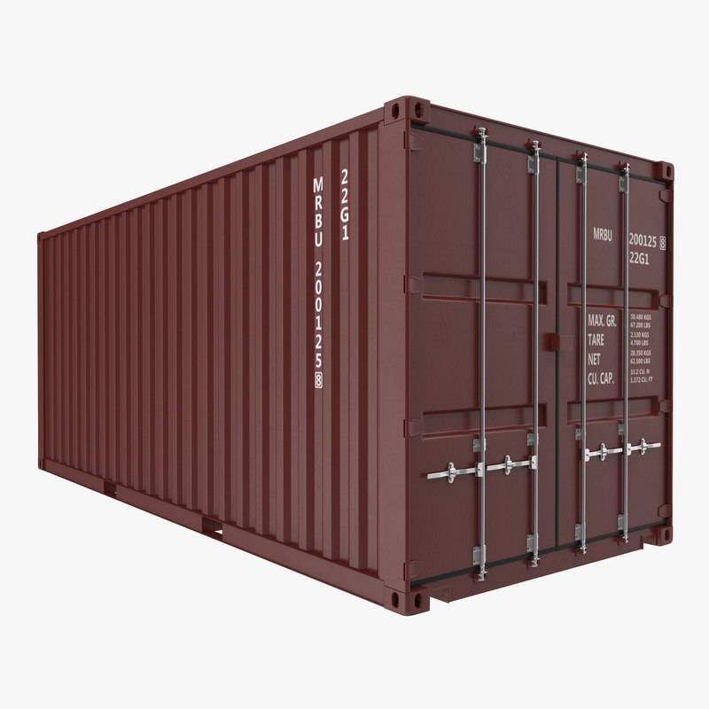 20 ft iso container max