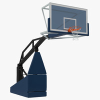 3d basketball hoop 5 model