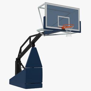 3d basketball hoop 5 model