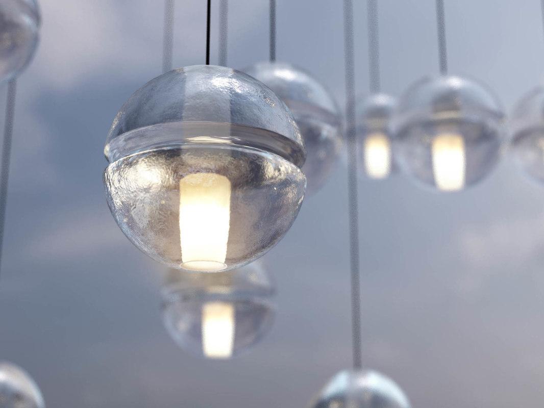 bocci 14 lamp 3d max