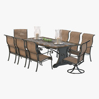Agio Patio Outdoor Dining Set
