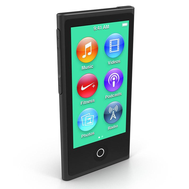 ipod nano black max