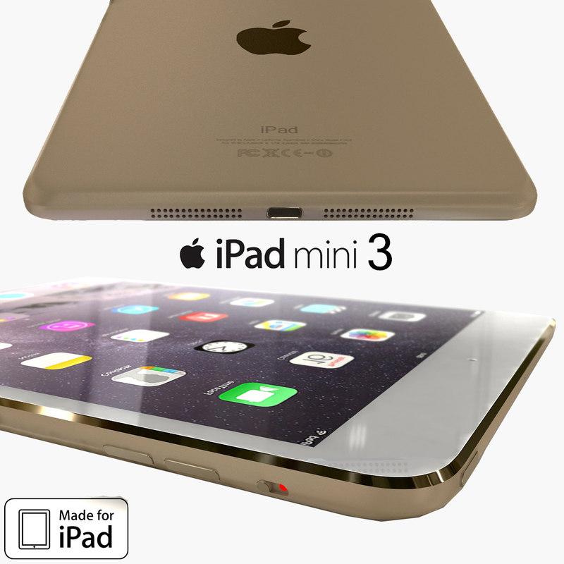 max apple ipad mini 3