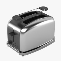 toaster realistic 3d max