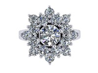 Star Love Enagement Ring