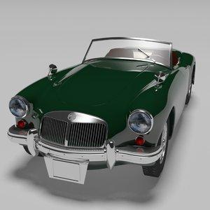 3d mga roadster