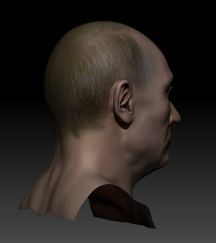 3ds max sculpt putin