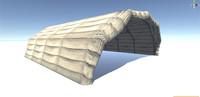 Hangar tented military