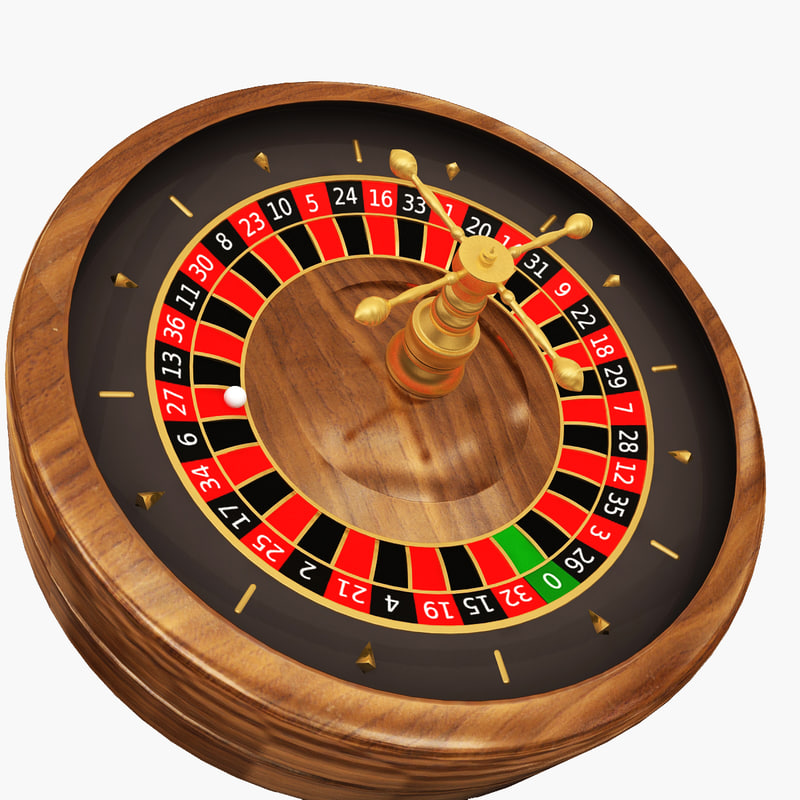 casino - roulette wheel 3d 3ds