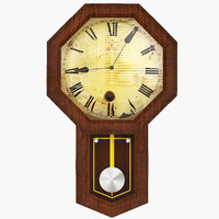 3d model of historical clock