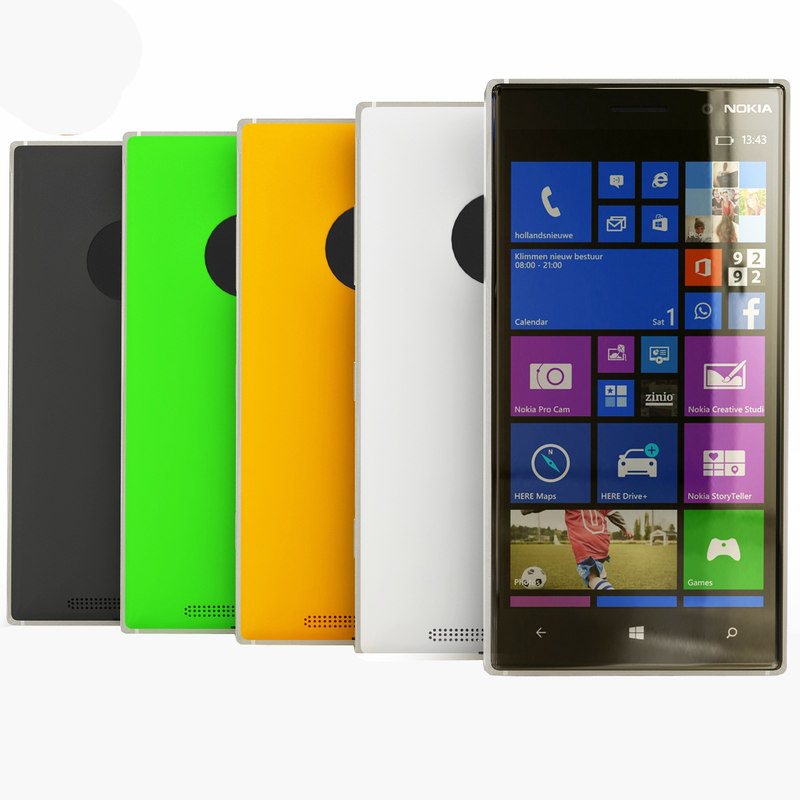 nokia lumia 830 3d max