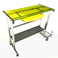 3d table desk model