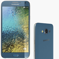 samsung galaxy e7 3d model