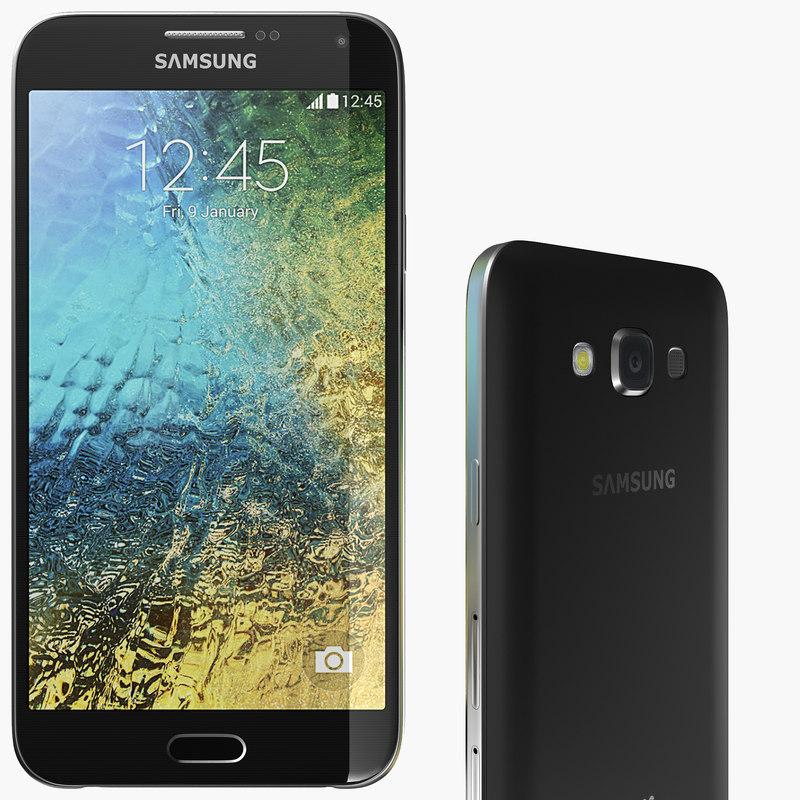 3d model samsung galaxy e7