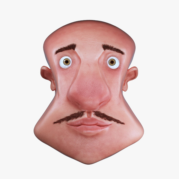 max toon character face head
