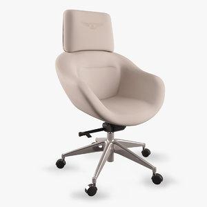 3ds bentley design chair