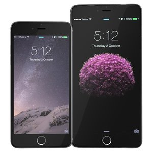 c4d apple iphone 6 spacegrey