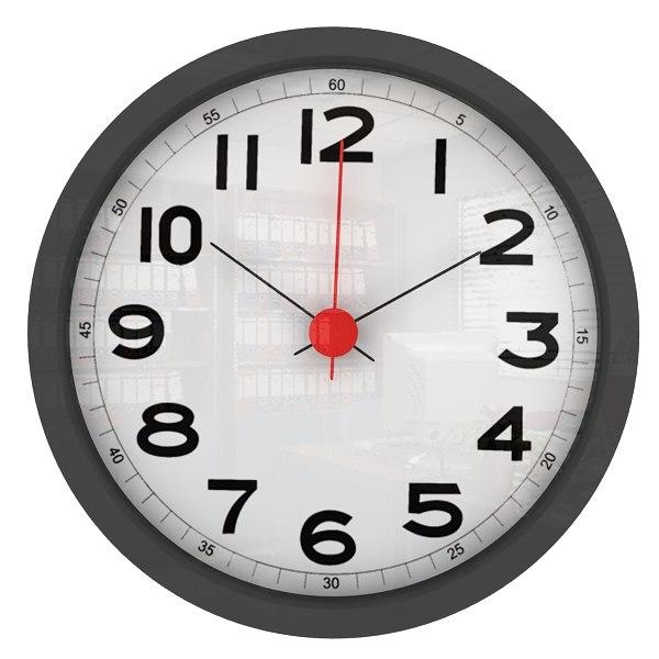 3d office wall clock