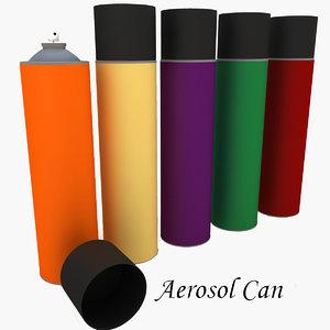 3d model aerosol