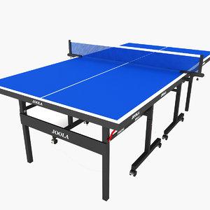 3d table tennis
